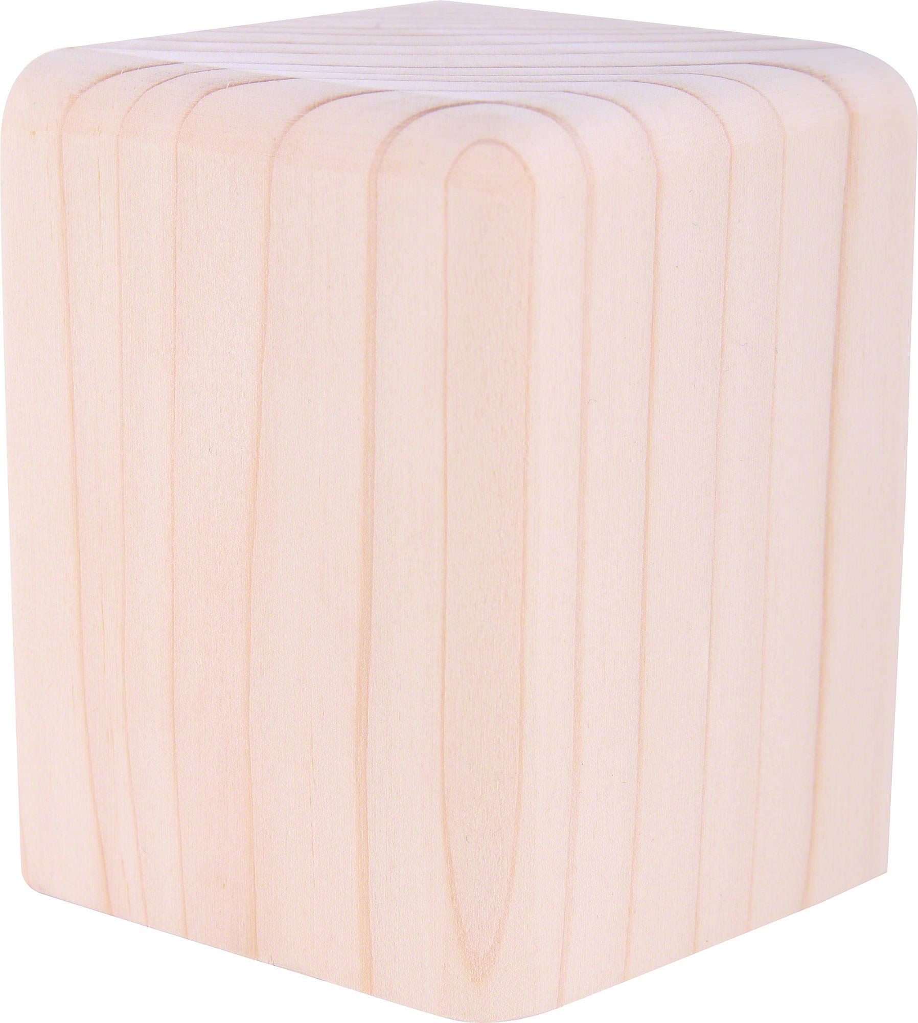 block medium natural 8 cm by bj rn k hler. Black Bedroom Furniture Sets. Home Design Ideas