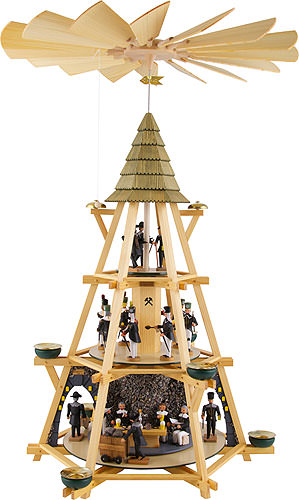 Image For 3-Tier Capstan Pyramid Early Mass Shift (70cm/27.5 inch) by Dregeno Seiffen