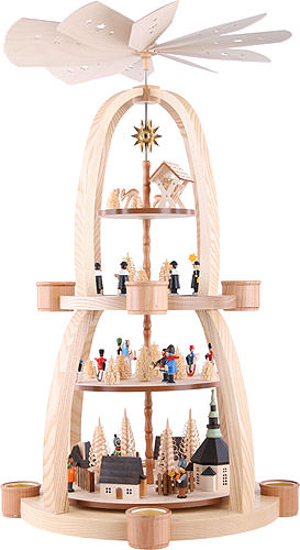 Image For 4-Tier Pyramid - Christmas in Seiffen (69cm/27 inch) by Knuth Neuber