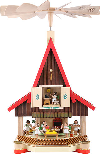 Image For 2-Tier Advent's House Angel's Bakery (53cm/21 inch) by Richard Glässer