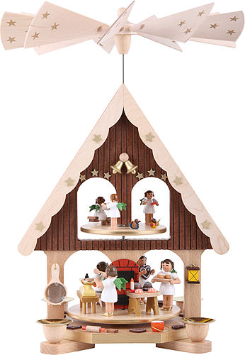 Image For 2-Tier Pyramid - Angel's Bakery (36cm/14.2 inch) by Richard Glässer