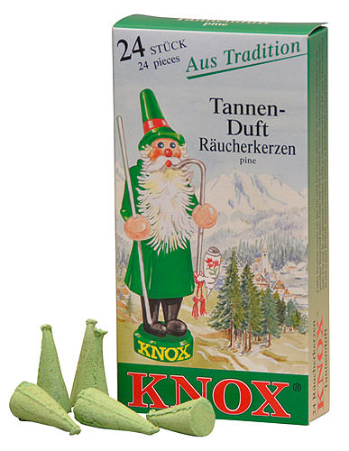 Image For Knox Incense Cones - Pine Tree by Knox Räucherkerzen