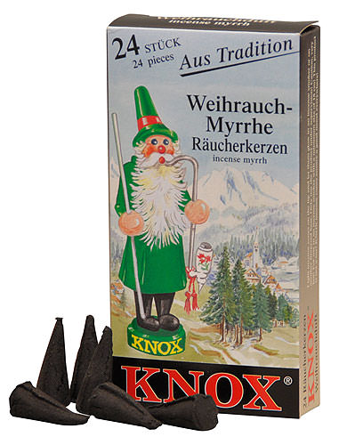 Image For Knox Incense Cones - Incense by Knox Räucherkerzen