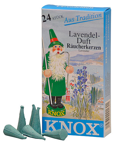 Image For Knox Incense Cones - Lavender by Knox Räucherkerzen