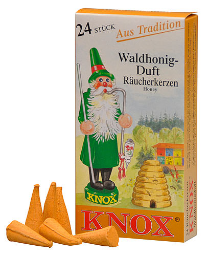Image For Knox Incense Cones - Honey by Knox Räucherkerzen
