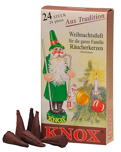 Image For Knox Incense Cones - Christmas by Knox Räucherkerzen