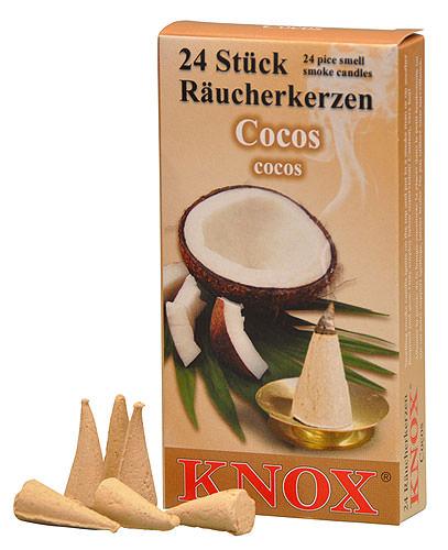 Image For Knox Incense Cones - Coconut by Knox Räucherkerzen