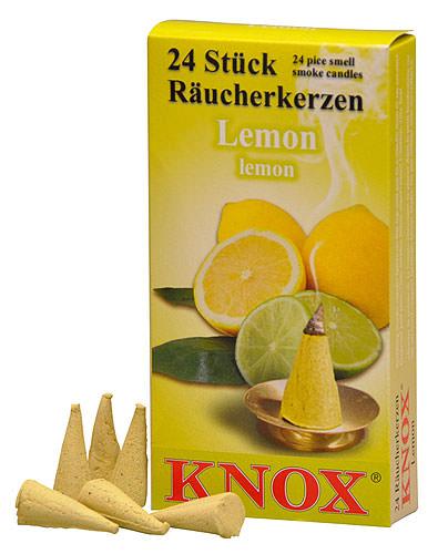 Image For Knox Incense Cones - Lemon by Knox Räucherkerzen
