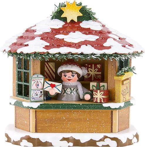 Image For Winter Children Christmas Post Office (10cm/3.9 inch) by Hubrig Volkskunst