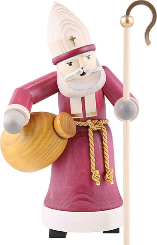 Image For Smoker - Santa Claus Glazed (28cm/11 inch) by ULMIK