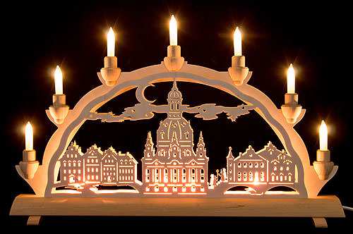3D Double Arch - Dresden's Church of Our Lady (50x32cm/20x12.6 inch) by Schlick & Türk