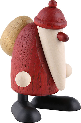 santa claus standing 9 cm by bj rn k hler kunsthandwerk. Black Bedroom Furniture Sets. Home Design Ideas