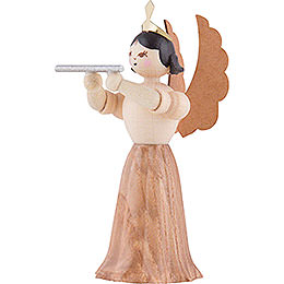 Angel with Cross Flute - 7 cm / 2.8 inch