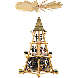 3-Tier Capstan Pyramid Early Mass Shift - 70 cm / 27.5 inch
