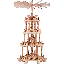 4-Tier Pyramid - Nativity - 58 cm / 22.8 inch