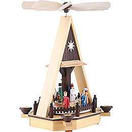 1-Tier Pyramid - Nativity Scene - 34 cm / 13 inch
