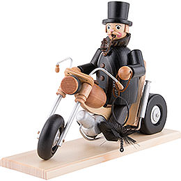 Smoker - Chimeney Sweep in Motorbike - 21 cm / 8 inch
