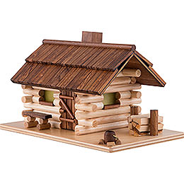 Smoking Hut - Forest Hut - 10 cm / 4 inch