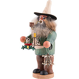 Smoker - Candle Holder - Salesman - 20 cm / 8 inch