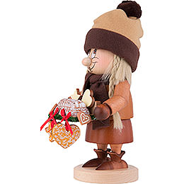 Smoker - Gnome Striezel Girl - 29 cm / 11 inch