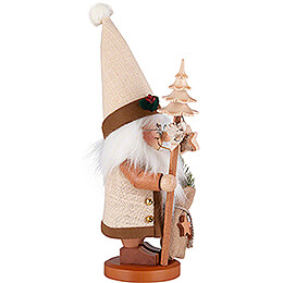Smoker - Gnome Santa with Bar - 39 cm / 15 inch