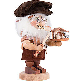 Smoker - Gnome Nativity Carver - 27,5 cm / 10.8 inch