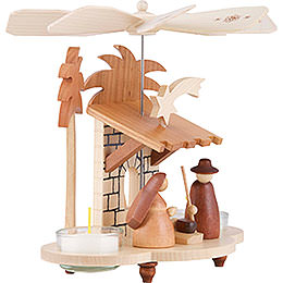 1-Tier Pyramid - Holy Family Natural Colors - 19,5 cm / 8 inch