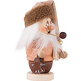 Smoker - Mini Gnome with Package - 14,0 cm / 6 inch