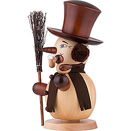 Smoker - Snowman Natural Colors - 50,0 cm / 20 inch