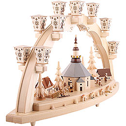 Candle Arch - Seiffen Church - 80 cm / 31 inch