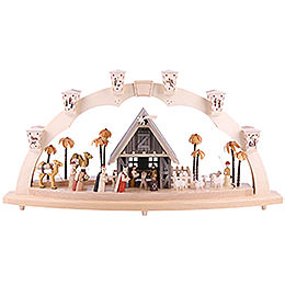Candle Arch - Nativity - 80x41 cm / 31.5x16 inch