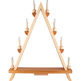 Light Triangle - without Figurines - 55x68 cm / 21.7x26.8 inch