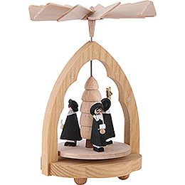 1-Tier Thermic Pyramid Carolers - 10 cm / 4 inch