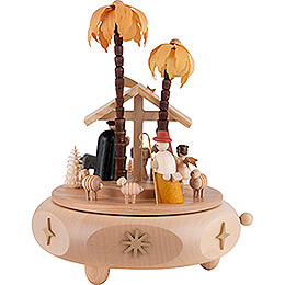 Music Box - Nativity - 17 cm / 6.7 inch