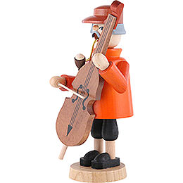 Smoker - Bass Violin Player - 19 cm / 7 inch