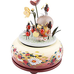 Music Box Beetle Orchestra - 15 cm / 6 inch