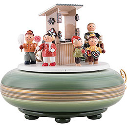 Music Box Christmas Fair - 16 cm / 6 inch