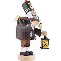 Smoker - Miner with Axe and Lamp - 20 cm / 8 inch