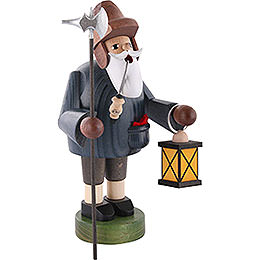 Smoker - Nightwatchman with Lantern - 36 cm / 14 inch