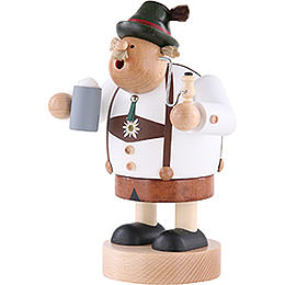 Smoker - Bavarian with Stein - 20 cm / 8 inch