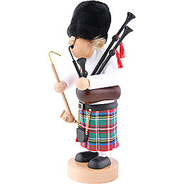 Smoker - Scotsman with Bagpipe - 29 cm / 11.4 inch