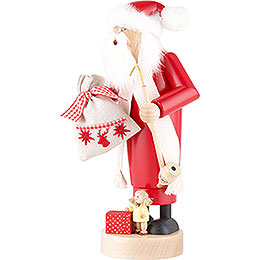 Smoker - Santa with Doll - 25 cm / 10 inch