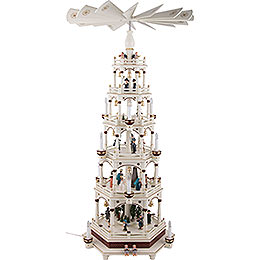 6-Tier Pyramid - Silent Night - 106 cm / 42 inch