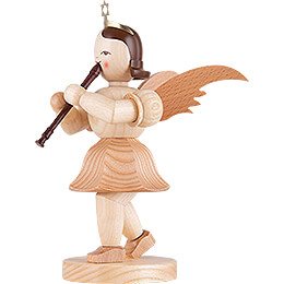 Angel Short Skirt with Recorder, Natural - 20 cm / 7.9 inch