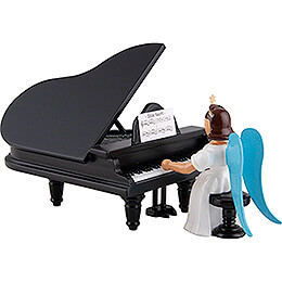 Angel Long Pleated Skirt at the Piano, Colored - 6,6 cm / 2.6 inch