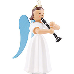 Angel Long Pleated Skirt with Clarinet, Colored - 6,6 cm / 2.6 inch