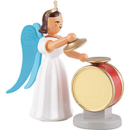 Angel Long Pleated Skirt Cymbal Drum, Colored - 6,6 cm / 2.6 inch