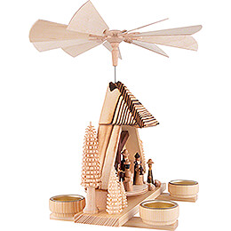 1-Tier Pyramid - Nativity Scene - 30 cm / 11.8 inch