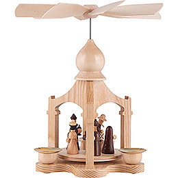 1-Tier Pyramid - Nativity - 23 cm / 9.1 inch