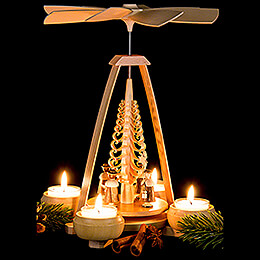 1-Tier Pyramid - Carolers - 24 cm / 9.4 inch